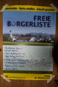 Aufgabenliste - Bürgermeister Stadlbauer
